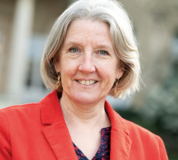 Annie Chapelier, élue du groupe Agir Ensemble à l'Assemblée nationale.